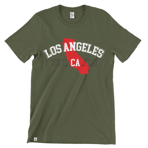 Los Angeles Est. CA T-Shirt | The CaliBorn Store