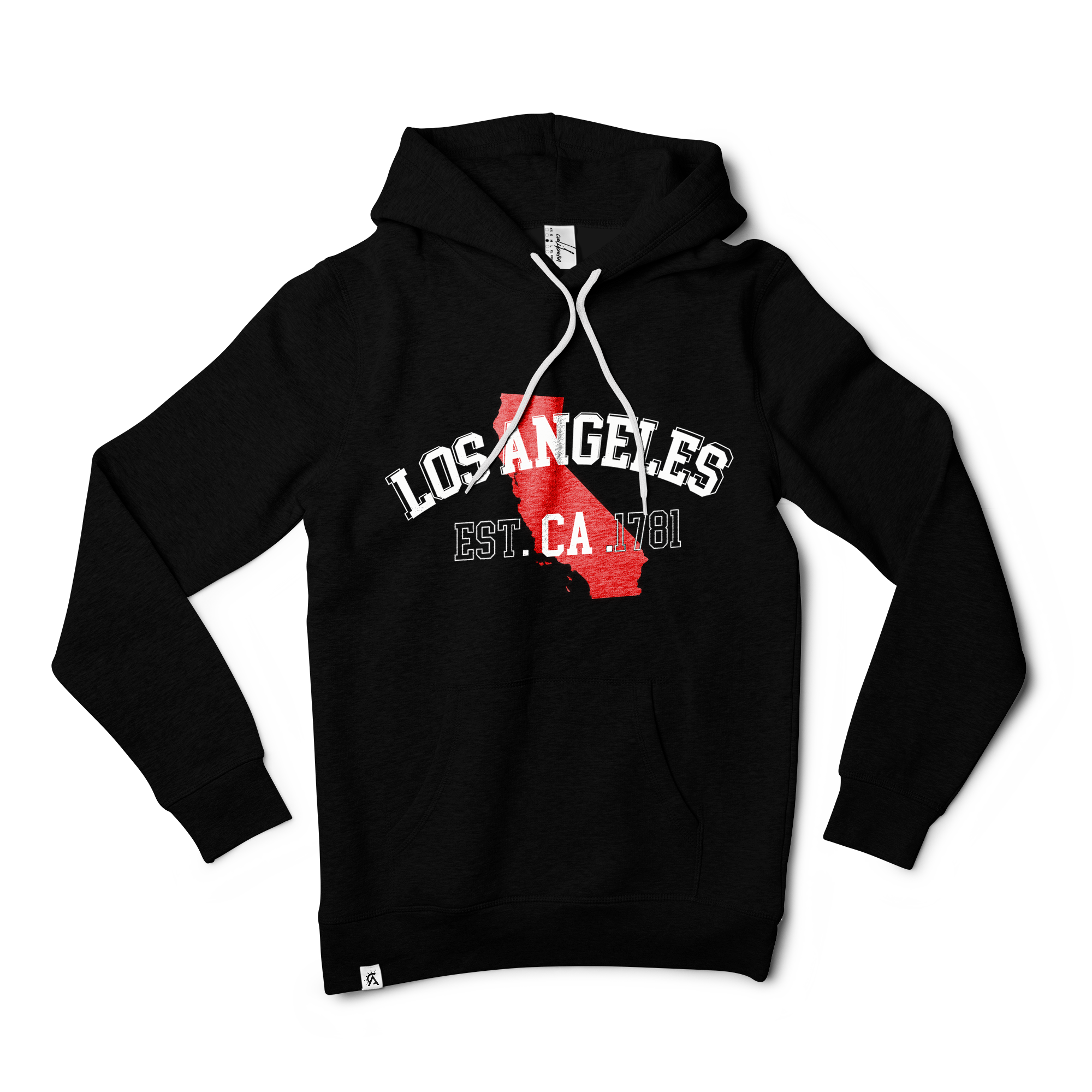 Los Angeles Pullover Hoodie Est. Collection | The CaliBorn Store